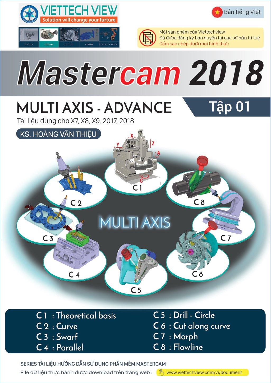 Mastercam 2018-Multiaxis